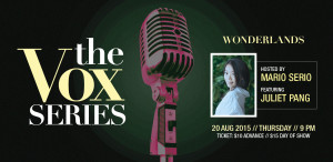 Jazz singer (Singapore, Perth) presents Wonderlands at Sing Jazz Club on 20th August