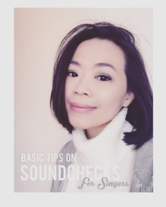 Basic Soundcheck Tips for Singers