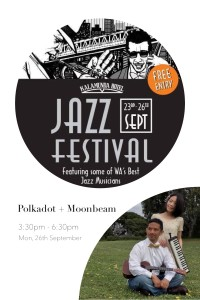P+M plays at Kalamunda Jazz Festival 2016