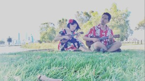Our picnic with ukuleles