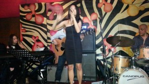 Our jam at my solo gig with The Good Seeds at BluJaz (L-R: Rachma, Didi, Juliet, Daryl, Alvin)